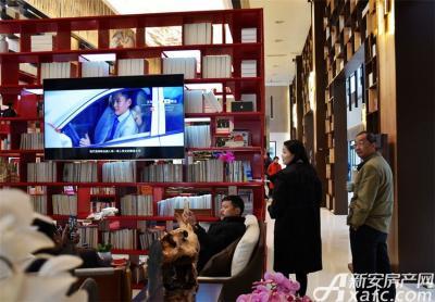 皖新翡翠庄园文化体验中心内部实景