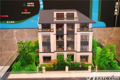 皖新翡翠庄园洋房模型