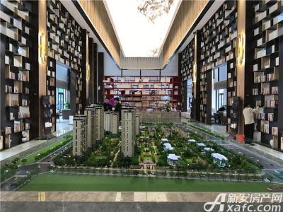 皖新翡翠庄园文化体验中心内部整体图片