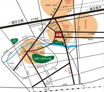 励骏金陵府(励骏首府)交通图