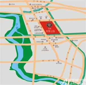 悦康美景公园交通图
