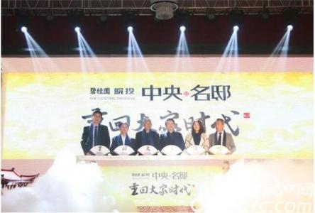 碧桂园皖投中央名邸活动图