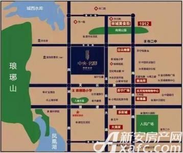 碧桂园皖投中央名邸交通图
