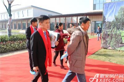 皖新翡翠庄园实景样板间开放(2016.12.17)