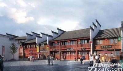 庐江中心城老街效果图