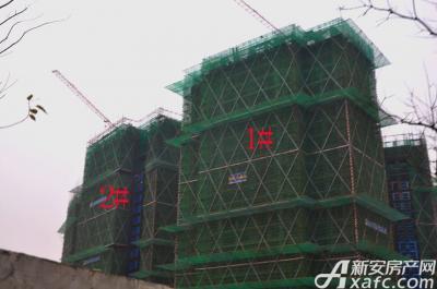 融创城1#2#楼工程进度(2016.12.12)