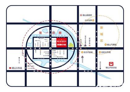 皇城御街交通图