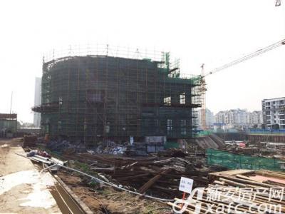 新安印象新安印象售楼部主体完成(20161223)