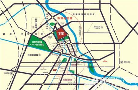 泰睿国际交通图