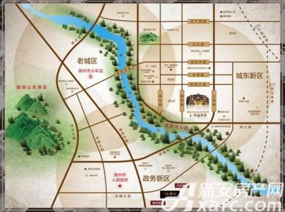 三巽英伦华第(三巽和悦郡)交通图