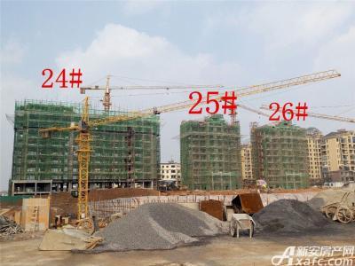 天景庄园24#—26#楼项目进度(2016.12.28)