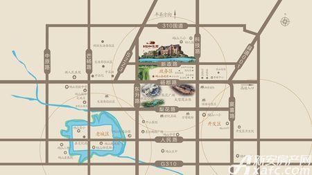 恒业怡和庄园交通图