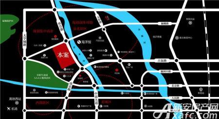 同昇玫瑰园交通图