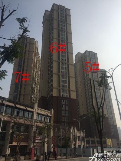 中航长江广场5#、6#、7#楼12月进度图(2016.12.27)