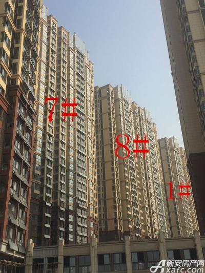 中航长江广场1#、7#、8#楼12月进度图(2016.12.27)