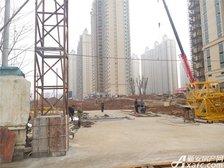 恒大绿洲31#—34#楼周边绿化项目进度(2017.1.10)