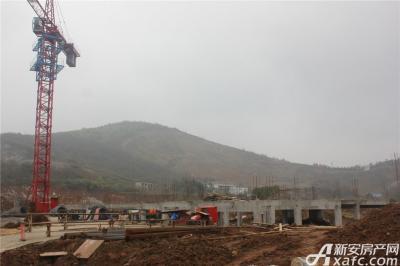 地矿龙山湖苑二期项目进度(2017.1.11)