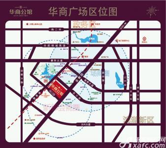 华商公馆交通图