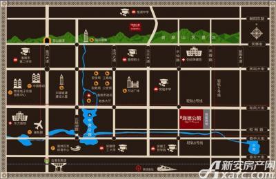高速·海德公馆区位图