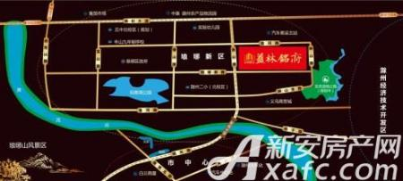 益林名府交通图