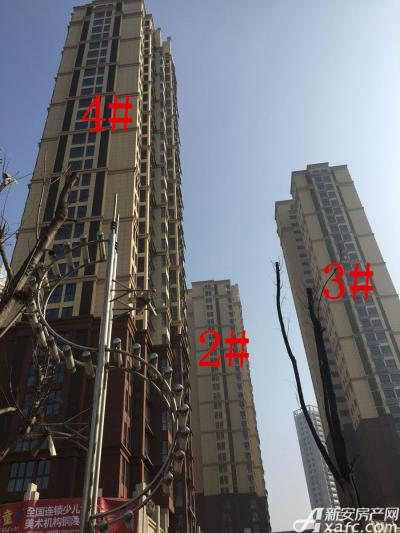 中航长江广场2#、3#、4#楼17年1月份进度图(2017.1.18)