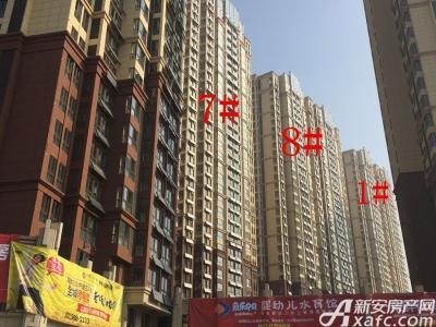 中航长江广场1#、7#、8#楼17年1月份进度图(2017.1.18)