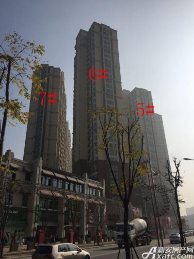 中航长江广场5#、6#、7#楼17年1月份进度图(2017.1.18)