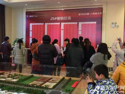秀山信达城二期25#加推现场(2017.1.14)