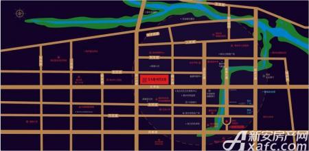 金大地时代公馆交通图