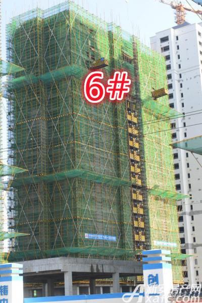 祥生宛陵湖新城6#工程进度2017年一月份
