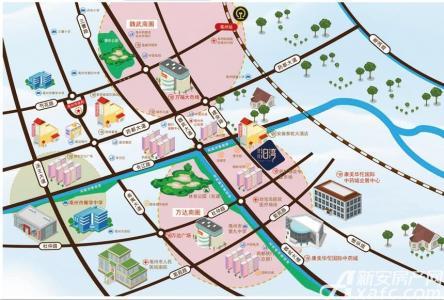 建投泊湾交通图