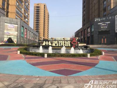 浩创城浩创城小区入口实景图(20170206)
