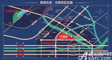 天英文鼎苑交通图