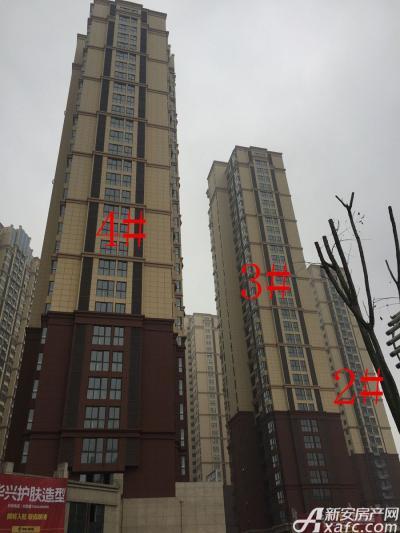 中航长江广场中航长江广场2月份项目进度图二