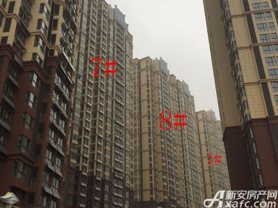 中航长江广场1#、7#、8#楼2月份项目进度图(2017.2.9)