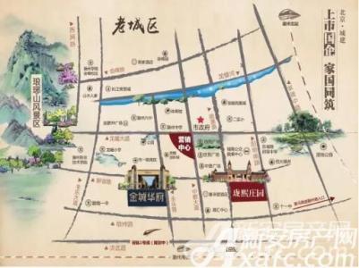 北京城建金城华府交通图