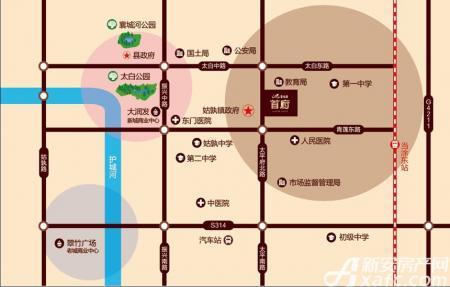 碧桂园首府交通图