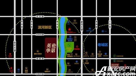 三巽英伦华第交通图