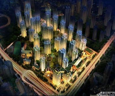 望和锦绣城项目鸟瞰图