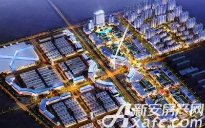 金龙国际商贸港项目总体渲染图