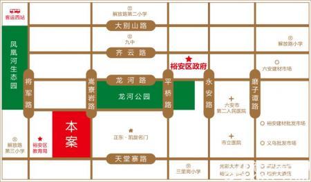 嘉泰丹霞公馆交通图