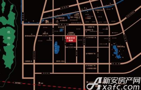 华尔南臺府交通图