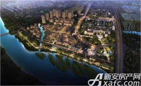 华夏孔雀城效果图