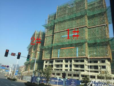 华源七星城1#、2#楼2月项目进度图(2017.2.24)