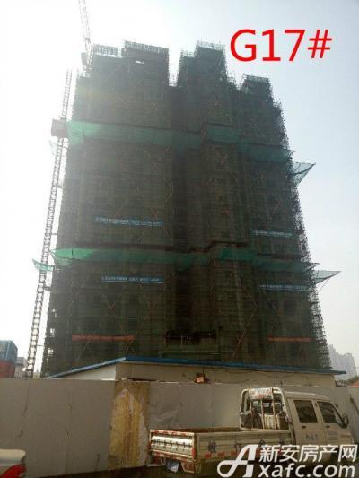 高速铜都天地G17#楼项目进度(2017.2.27)