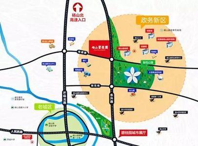 砀山碧桂园交通图
