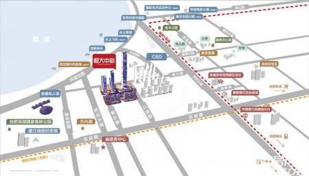 恒大中心交通图