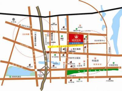 恒禾东尚交通图