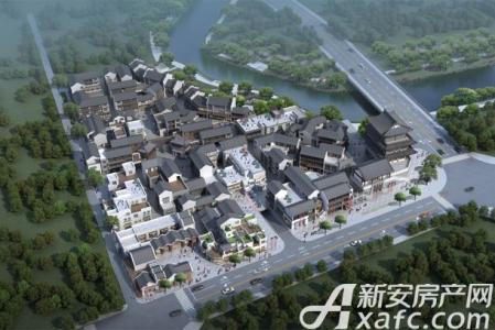 清流街实景图