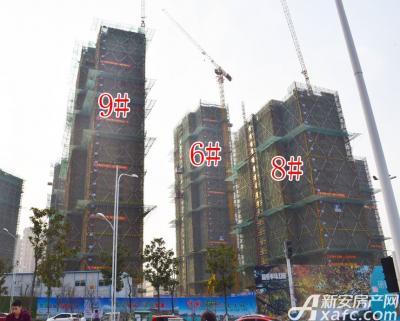 融创城6#8#9#楼工程进度(2017.03.07)
